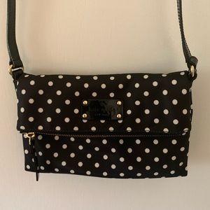 Kate Spade Black Polka Dot Crossbody Bag